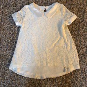Girls White Formal Dress